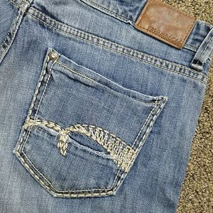 Distressed Maurice's jeans